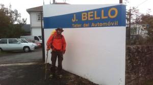 Call me Bello. Joe Bello.