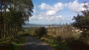 E per la prima volta dopo quasi 900km vedo un lago!!